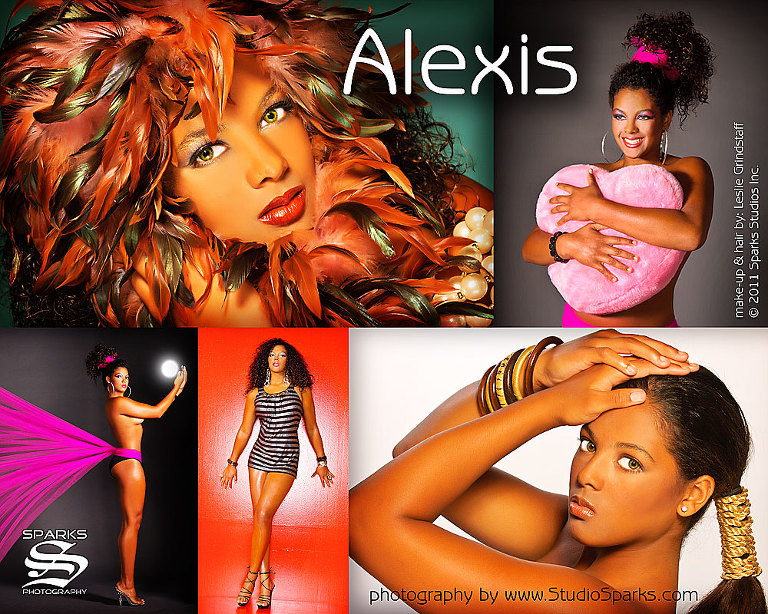 Alexis - by Atlanta Model Portfolios by Studio Sparks Photography