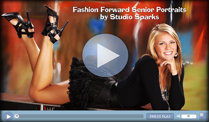Super creative and beautiful fashion portraits of High School Seniors Atlanta Georgia by Studio Sparks